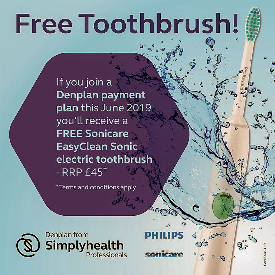free toothbrush offer
